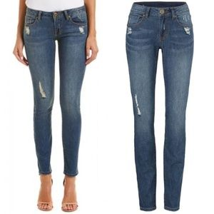 Cabi Curvy Skinny jeans Distressed Size 10